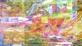 Oil painting very nice image of a large scale abstract Royalty Free Stock Photo