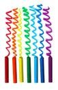 Oil Pastel Crayons Royalty Free Stock Photos