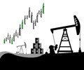 Oil prices rising