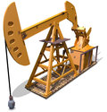 Oil pump Royalty Free Stock Photos