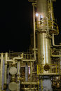 Oil refinery. Stock Images
