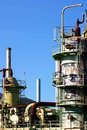 Oil Refinery Royalty Free Stock Image