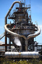 Oil refinery and heavy industry in bush environment Stock Photography