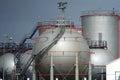 Oil silo Royalty Free Stock Photo
