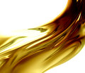 Oil wave on a white background Stock Photos