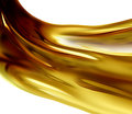 Oil wave on a white background Royalty Free Stock Photography