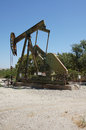 Oil Well Drilling Stock Image