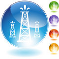 Oil Well Geyser Royalty Free Stock Photography