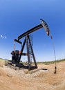 Oil Well Pumper. Stock Image