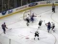 Oilers vs. Mighty Ducks 5 Stock Photography