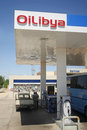 Oilibya fuel pump gabes tunisia september is a pan african energy group companies operate in african countries where they offer Stock Photos