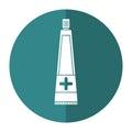 Ointment cream tube medicine shadow