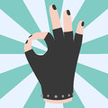 Ok hand success gesture okey yes agreement signal business human agree best approval vector.