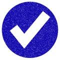 Ok Icon Grunge Watermark Royalty Free Stock Photo