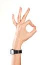 Ok symbol Stock Images