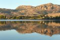 Okanagan Dawn, Osoyoos Lake Reflection Royalty Free Stock Photo