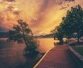 Okanagan Lake Royalty Free Stock Photo