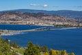 Okanagan Lake Bridge Kelowna BC Canada Royalty Free Stock Photo