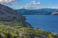 Okanagan Lake near Summerland British Columbia Canada Royalty Free Stock Photo