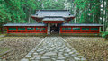 Okariden - Temporary Shrine at Nikko World Heritage Site in Nikko, Japan Royalty Free Stock Photo