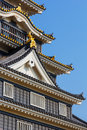 Okayama castle or crow castle in okayama japan november japan on november the main tower was completed it s black exterior has it Stock Photos