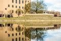 Oklahoma city bombing memorial Royalty Free Stock Photo