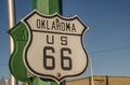 Oklahoma US 66 Sign