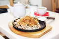 Okonomiyaki Royalty Free Stock Photography