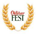 Oktober fest invitation poster