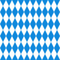 Oktoberfest  background. Bavarian flag pattern. Royalty Free Stock Photo