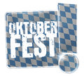 Oktoberfest Bavaria Button Icon Design Royalty Free Stock Photo