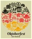 Oktoberfest Beer Festival label
