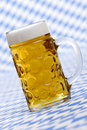 Oktoberfest Beer stein called Mass Royalty Free Stock Photo