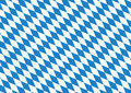 Oktoberfest blue background checkered on white Stock Images