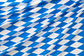 Oktoberfest checkered background blue fabric Royalty Free Stock Photography