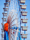 Oktoberfest famous ferris wheel at the in munich germany Stock Images