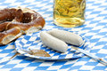 Oktoberfest lunch Royalty Free Stock Photo