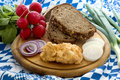 Oktoberfest Meal Royalty Free Stock Images