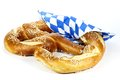 Oktoberfest pretzel Royalty Free Stock Photo