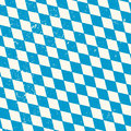 Oktoberfest seamless pattern with rhombus blue and white disposed diagonally flag of bavaria vector old diamonds background Royalty Free Stock Image