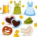 Oktoberfest Set Stock Photo