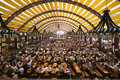Oktoberfest Tent Royalty Free Stock Photo