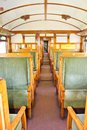 Old 2nd Class Wagon Cabin Royalty Free Stock Images