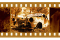 Old 35mm frame photo Royalty Free Stock Photo