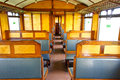Old 3rd Class Wagon Cabin Royalty Free Stock Photos