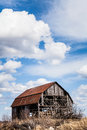 Old Abandoned Barn Royalty Free Stock Photo