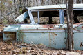 Old abandoned car Royalty Free Stock Photography