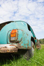 Old abandoned car rusty vintage Royalty Free Stock Photos