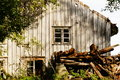 Old abandoned farm house, Norway Royalty Free Stock Photo
