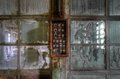 Old abandoned fuse box Stock Photos